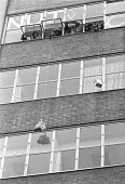 Occupation of the BBC by journalists in the NUJ, London 1980 - NLA - 1980,1980s,activist,activists,against,BBC,CAMPAIGNING,CAMPAIGNS,DEMONSTRATING,Demonstration,Job Losses,jobs,JOURNALIST,journalists,London,loss,member,member members,members,NUJ,Occupation,Occupations,