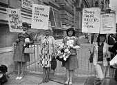 Mothers of Belfast IRA members subject to alleged army brutality, 1977 protest at Downing Street, London - NLA - 1970s,1977,activist,activists,against,Belfast mothers,brutality,CAMPAIGNING,CAMPAIGNS,catholic,catholics,DEMONSTRATING,Demonstration,Downing Street,imprisonment,incarcerated,incarceration,INMATE,INMAT
