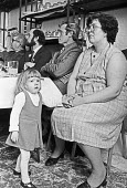 Press conference 1983 on 245T a powerful herbicide by agricultural workers union who wanted it banned. Kerry Hogben and her mother who handled 245T in her job. Kerry later died from deformities and in... - Peter Arkell - 1980s,1983,245T,adult,adults,agent orange,agrochemicals,birth deformities,chemical,chemicals,conference,conferences,employee,employees,Employment,ENI,environment,environmental degradation,Environmenta