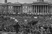 Northern Ireland Peace March and rally, Trafalgar Square, London 1976 - Peter Arkell - 27-11-1976