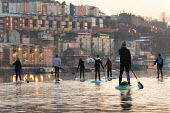 Stand up paddle boarding, Bristol docks - Paul Box - 21-03-2018