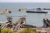 DFDS ferry departing from the Port of Dover - Paul Box - 06-04-2017