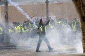 Paris, France Yellow Vest movement protest, Champs Elysees area - Jess Hurd - 2010s,2018,activist,activists,adult,adults,against,anti capitalism,Anti Capitalist,Austerity Cuts,CAMPAIGN,campaigner,campaigners,CAMPAIGNING,CAMPAIGNS,Champs Elysees,cities,City,CRS,cs gas,DEMONSTRAT