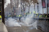 Paris, France Yellow Vest movement protest, Champs Elysees area - Jess Hurd - 2010s,2018,activist,activists,adult,adults,against,anti capitalism,Anti Capitalist,Austerity Cuts,CAMPAIGN,campaigner,campaigners,CAMPAIGNING,CAMPAIGNS,Champs Elysees,cities,City,conflict,Conflicts,CR