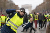 Paris, France protest by Yellow Vest movement, Champs Elysees area - Jess Hurd - 08-12-2018