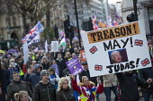 UKIP Brexit Betrayal protest with Tommy Robinson, London. Treason! May! Judas! - Jess Hurd - 2010s,2018,activist,activists,against,bigotry,Brexit,Brexit Betrayal,campaign,campaigning,CAMPAIGNS,DEMONSTRATING,demonstration,DISCRIMINATION,EU,European Union,eurosceptic,Euroscepticism,eurosceptics