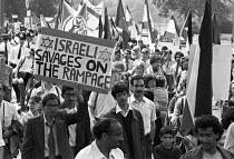 Protest against the Israeli invasion of Lebanon, London 1982 - NLA - 31-07-1982