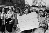 Protest against the abolition of free school meals Merton, South London, 1983 - NLA - 09-03-1983