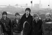 Youth, Corby, Northamptonshire, 1982, facing an uncertain future after the closure of most of the steelworks of the town and with an unemployment rate of 30% - Peter Arkell - 13-12-1982