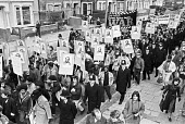Protest to demand the truth about the death of Colin Roach, Hackney, East London 1982, he was shot in the mouth in the foyer of Stoke Newington police station - Ray Rising - 14-01-1983
