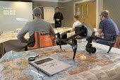 Drone Pilot Academy training drone pilots for their Commercial CAA licence, Milton Keynes - Paul Box - 2010s,2018,academies,Academy,adult,adults,air space,air transport,aircraft,assessing,assessment,assessments,civil aviation authority,class,Commercial Operations,communicating,communication,course,cour