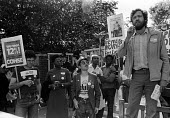 Jeremy Corbyn speaking 1982, Islington Council workers strike in soldarity with NHS workers 12 per cent pay claim, London - Stefano Cagnoni - 03-09-1982