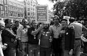 TGWU members at Islington Council workers strike 1982rally in solidarity with NHS workers 12 per cent pay claim - Stefano Cagnoni - 03-09-1982