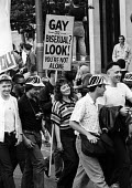 Gay Pride celebration London 1987. Gay or bisexual? Look you're not alone - Stefano Cagnoni - 27-06-1987