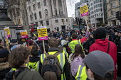 Britain is Broken - General Election Now, People's Assembly protest, Trafalgar Square, London against right wing yellow vest pro Brexit crowd, Trafalgar Square, London - Jess Hurd - 12-01-2019