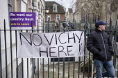 No Vichy Here. UKIP Leave protest as Parliament prepares to vote on Brexit, Westminster, London - Philip Wolmuth - 15-01-2019