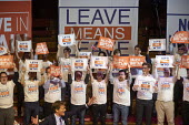 Richard Tice speaking Leave Means Leave Rally, Central Hall Westminster, London - Jess Hurd - 17-01-2019