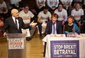 Iain Duncan Smith speaking Leave Means Leave Rally, Central Hall Westminster, London - Jess Hurd - 17-01-2019