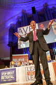 Nigel Farage MEP speaking Leave Means Leave Rally, Central Hall Westminster, London - Jess Hurd - 2010s,2019,Brexit,campaign,campaigning,CAMPAIGNS,Central Hall,EU,European Union,eurosceptic,Euroscepticism,eurosceptics,Leave,Leave means leave rally,London,MEP,Nigel Farage,POL,political,POLITICIAN,P