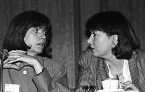 Liz Symonds FDA Gen Sec and the Chair, FDA ADC London 1989 - Stefano Cagnoni - 11-05-1989