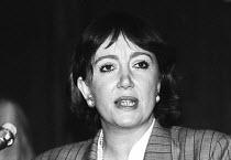 Liz Symonds FDA Gen Sec speaking, FDA ADC London 1989 - Stefano Cagnoni - 11-05-1989