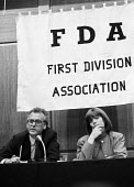 Peter Hennessy speaking at the FDA sponsored GCHQ lecture London 1989 - Stefano Cagnoni - 31-05-1989