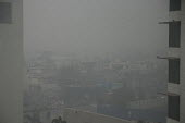 Amritsar, Punjab, India, air pollution, thick smog. Air pollution in India is a serious issue with the major sources being fuelwood and biomass burning, fuel adulteration, vehicle emission and traffic... - Martin Mayer - 01-11-2018