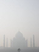 Air pollution in India, The Taj Mahal in thick smog, Agra. Air pollution in India is a serious issue with the major sources being fuelwood and biomass burning, fuel adulteration, vehicle emission and... - Martin Mayer - 08-11-2018