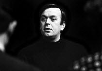 William Gaskill Directing SAVED by Edward Bond, Royal Court Theatre London 1965 - Patrick Eagar - 29-10-1965