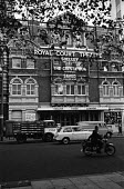 The Royal Court Theatre, Sloane Square London 1965. With plays Shelley by Ann Jellicoe; The Cresta Run by N F Simpson and Saved by Edward Bond - Patrick Eagar - 29-10-1965