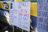 PCS strike, BEIS, London by outsourced cleaners, receptionists and security for a London Living Wage, sick pay and annual leave - Jess Hurd - 2010s,2019,annual leave,cleaner,cleaners,CLEANING,DISPUTE,disputes,EARNINGS,FEMALE,Income,Industrial dispute,joint,leave,London,London Living Wage,Low Pay,Low Income,low paid,Low Pay,MEMBER,member mem