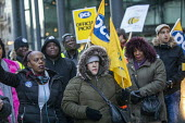 PCS strike, BEIS, London by outsourced cleaners, receptionists and security for a London Living Wage, sick pay and annual leave - Jess Hurd - 22-01-2019