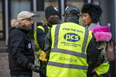 PCS strike, BEIS, London by outsourced cleaners, receptionists and security for a London Living Wage, sick pay and annual leave - Jess Hurd - 2010s,2019,annual leave,BAME,BAMEs,BEMM,BEMMS,Black,Black and White,BME,bmes,cleaner,cleaners,CLEANING,DISPUTE,disputes,diversity,EARNINGS,ethnic,ethnicity,FEMALE,Income,Industrial dispute,joint,leave