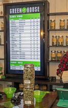 Michigan, USA, The Greenhouse medical marijuana dispensary - Jim West - 01-02-2019