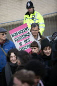 Rally for the Stansted 15 activists, Chelmsford Crown Court, Essex, convicted of a terrorism related offence for stopping an immigration removal flight at Stansted airport receive suspended sentences... - Jess Hurd - 06-02-2019