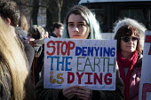Youth strike against climate change, Newcastle University, Newcastle Upon Tyne - Mark Pinder - 15-02-2019
