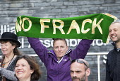 Protest against Fracking, National assembly for Wales, Cardiff, Frack Free Wales - Paul Box - 22-09-2015