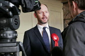 Jamie Driscoll Labour Party candidate for the North of Tyne Mayor election. The Momentum backed candidate beat Nick Forbes, leader of Newcastle City Council, to be the party candidate, Tynemouth - Mark Pinder - 20-02-2019