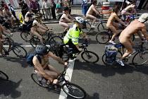 World Naked Bike Ride. London. - Jess Hurd - 14-06-2009