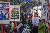 Oakland, California, USA: Teachers strike protest for smaller class sizes, more resources and higher pay - David Bacon - 21-02-2019