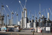 Battersea Power Station development, Nine Elms regeneration zone, London. The zone will include two new tube stations, the new US Embassy building and 20,000 new homes with prices up to �9 million - Philip Wolmuth - 26-02-2019