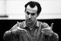 Italian composer Luigi Nono London 1961 - Romano Cagnoni - 11-02-1961