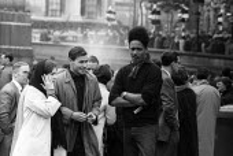 Anti apartheid rally Trafalgar Square London 1961, Black and white opponents of Apartheid - Romano Cagnoni - 1960s,1961,AAM,activist,activists,against,Anti,Anti Apartheid Movement,Anti Racism,anti racist,apartheid,BAME,BAMEs,Black,Black AND white,BME,bmes,campaign,campaigner,campaigners,campaigning,CAMPAIGNS