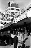 Finland 1963. New shopping centre designed by architect Aarne Ervi in the post war reconstruction plan - Romano Cagnoni - 11-05-1963