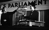 London Women's Parliament meeting,1947, debating price increases and inflation affecting British households - Felix H. Man - 19-04-1947