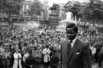 Anti Apartheid Rally Trafalgar Square London 1961