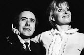 Victor Spinetti and Sheila Allen, Vagina Rex and The Gas Oven 1969, Drury Lane Arts Lab, London. The play by Jane Arden was the first Womens Liberation Movement play to be staged in Britain 1969 - Romano Cagnoni - 1960s,1969,1st,ACE,acting,actor,actors,actress,actresses,Arden,Arts,bigotry,bodies,body,culture,DISCRIMINATION,drama,DRAMATIC,equal,equal rights,equality,FEMALE,female body,female form,feminism,femini