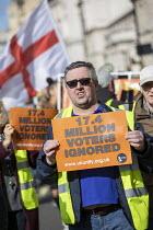UK UNITY ORG Yellow Vest pro Brexit protest, Westminster, London - Jess Hurd - 2010s,2019,activist,activists,against,Brexit,campaigner,campaigners,CAMPAIGNING,CAMPAIGNS,cities,City,DEMONSTRATING,demonstration,DEMONSTRATIONS,EU,European Union,Leave,London,nationalism,nationalist,