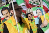 Iranians protest for exiled Maryam Rajavi (MEK) and against violence against women in Iran, Westminster, London - Jess Hurd - 2010s,2019,activist,activists,against,BAME,BAMEs,BME,bmes,campaigner,campaigners,CAMPAIGNING,CAMPAIGNS,cities,City,DEMONSTRATING,demonstration,DEMONSTRATIONS,diversity,dress,ethnic,ethnicity,FEMALE,fl
