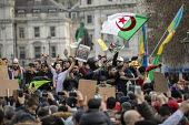 Algerians protest for regime change in Algeria, Westminster, London - Jess Hurd - 09-03-2019